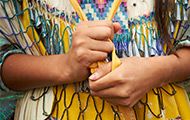 Native American Woman's Hands