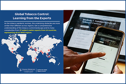 Arm yourself with the tools to join the tobacco control fight
