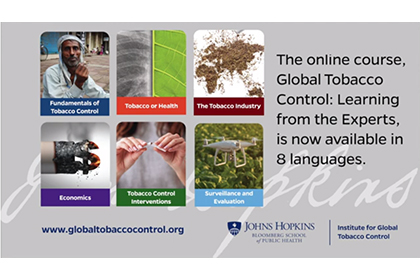 Institute for Global Tobacco Control - Centers and Institutes