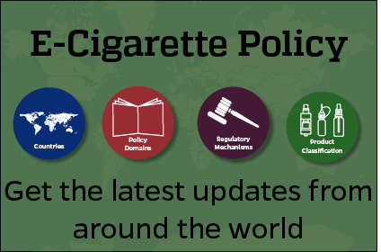 Keep up to date with e-cigarette policies from around the world