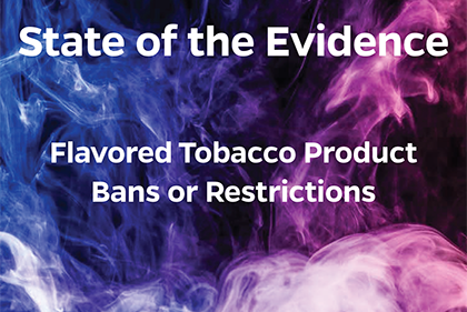 Read the IGTC State of the Evidence Report on Tobacco Flavor Bans and Restrictions