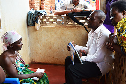 Tanzanian counseling session