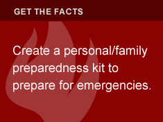 Create a personal/family preparedness kit to prepare for emergencies.