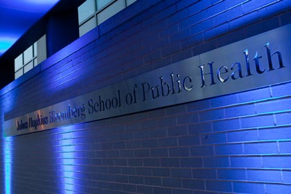 School of Public Health Sign