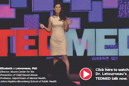 Image of Elizabeth Letourneau at TED