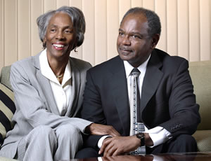 C. Sylvia and Eddie C. Brown