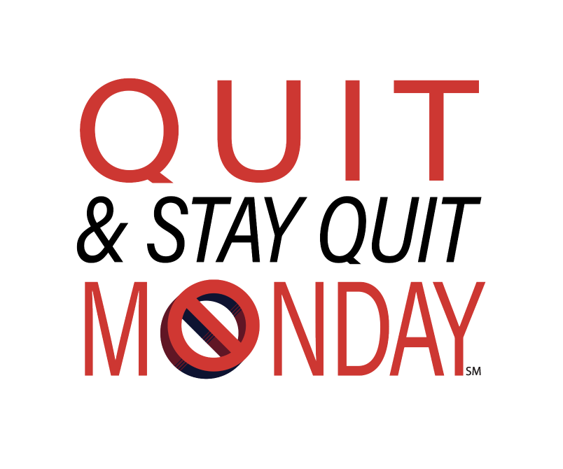 Quit and Stay Quit Monday logo