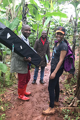 Field Researchers in the DRC