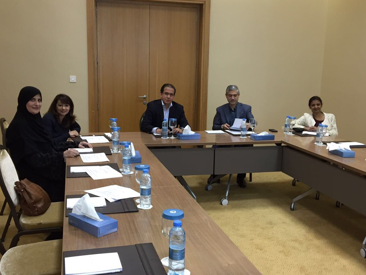 Meeting with HMC in Qatar