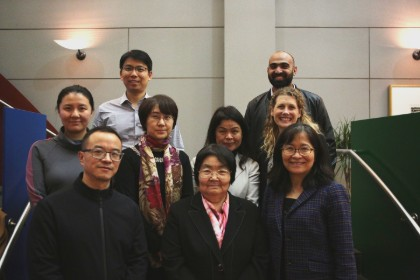A delegation of Chinese psychiatrists visited Johns Hopkins Bloomberg School of Public Health as part of an autism air pollution study.