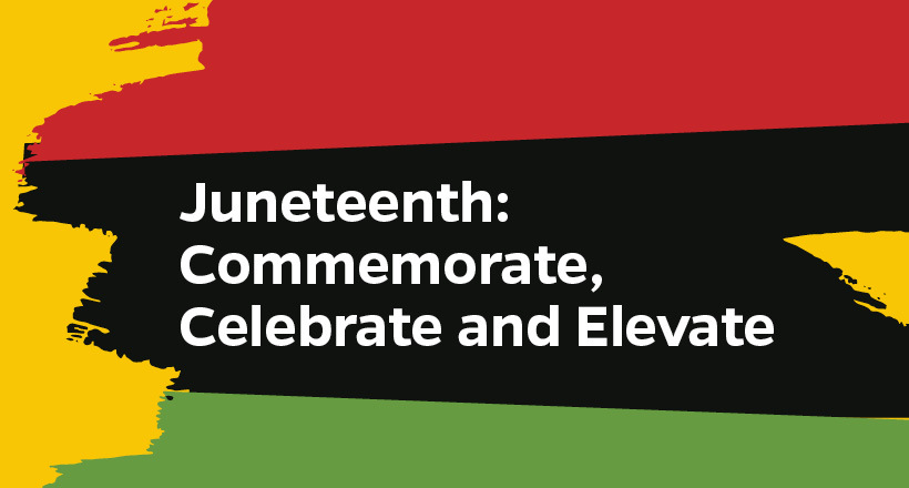 Juneteenth graphic