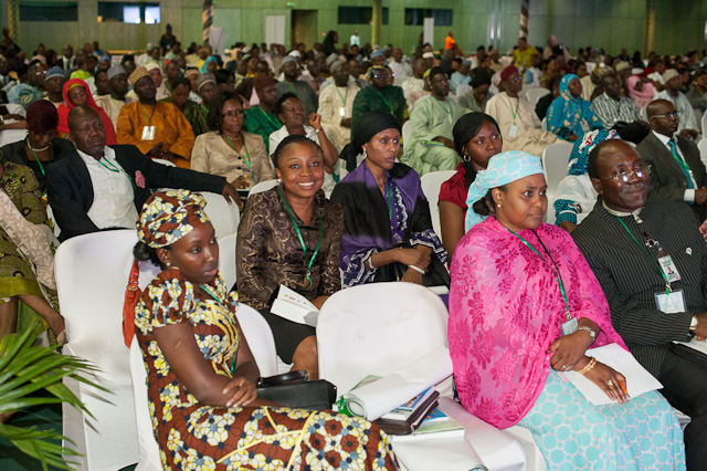 Attendees at Nigeria's National Vaccine Summit