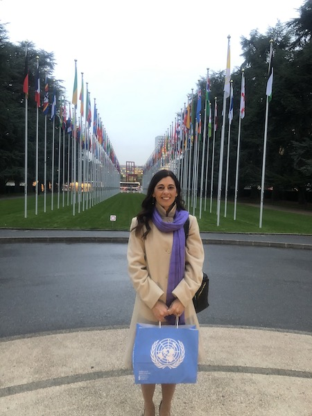 Elizabeth Letourneau at the United Nations