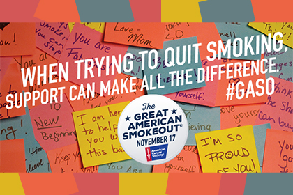 Great American Smokeout 2016