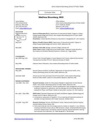 Resumes and cvs career resources for students career for Cover letter for bloomberg
