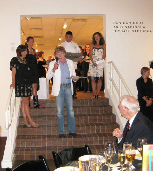 Robert Redford discusses Feast for Future