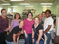 Staff at Franciscan Center