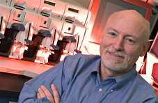 Speeding the search for new antimalarials: Alan Scott helps invent the malaria GeneChip.