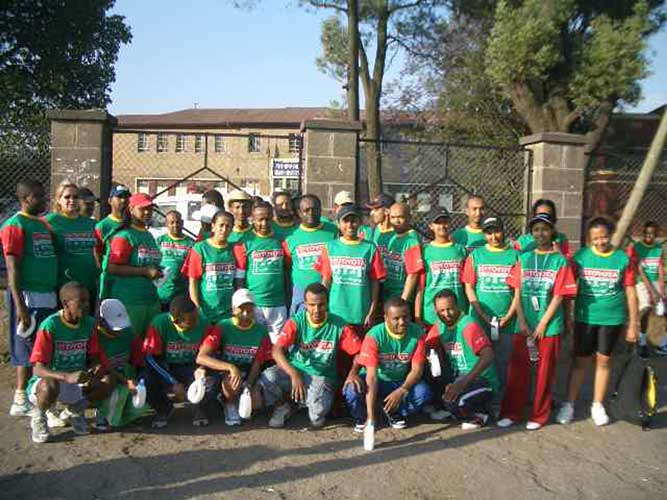 TSEHAI Team Participants in Ethiopia's Great Run