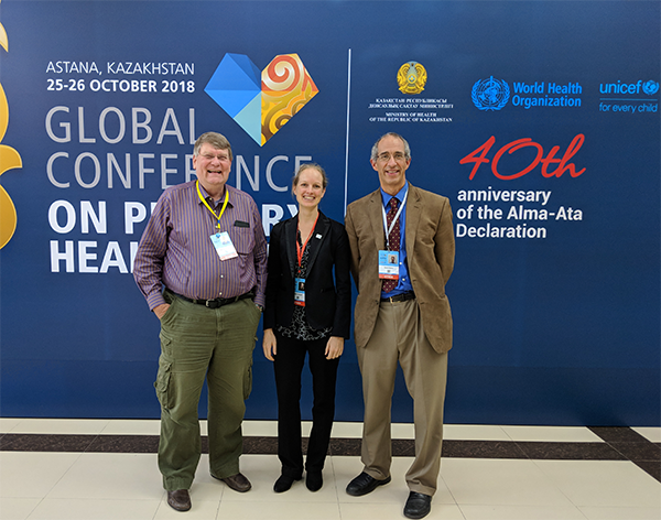 Hopkins Delegates at the Astana Conference