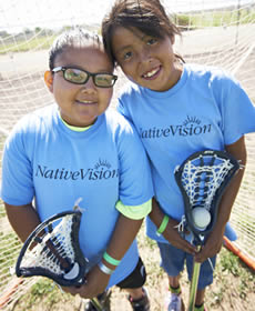 Two NativeVision participants
