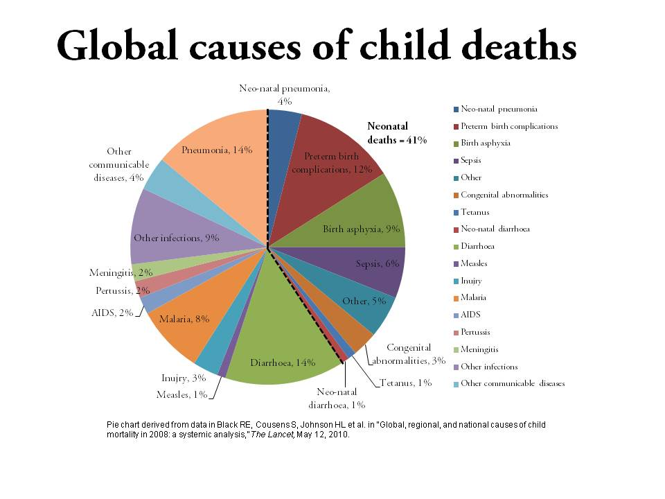 Global Causes of Child Deaths, 2008: Black et al., 2010