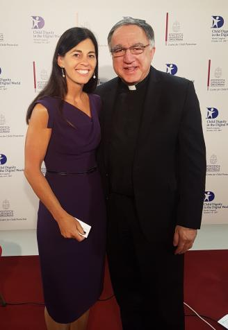 Dr. Letourneau and Fr. Rosica