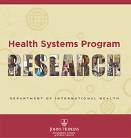 Health Systems Program Research
