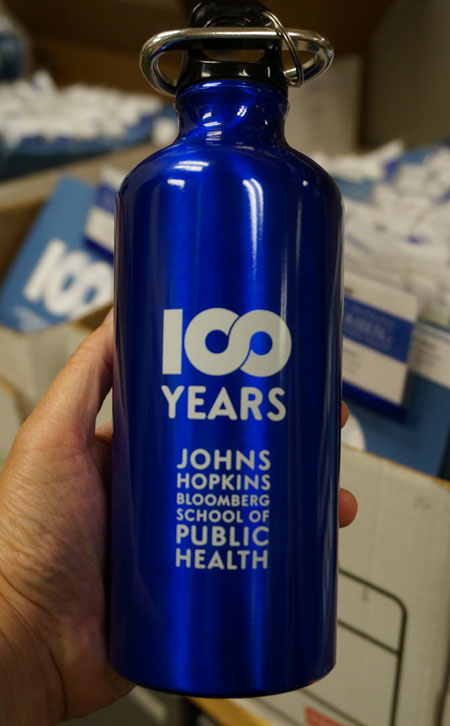 Centennial water bottle