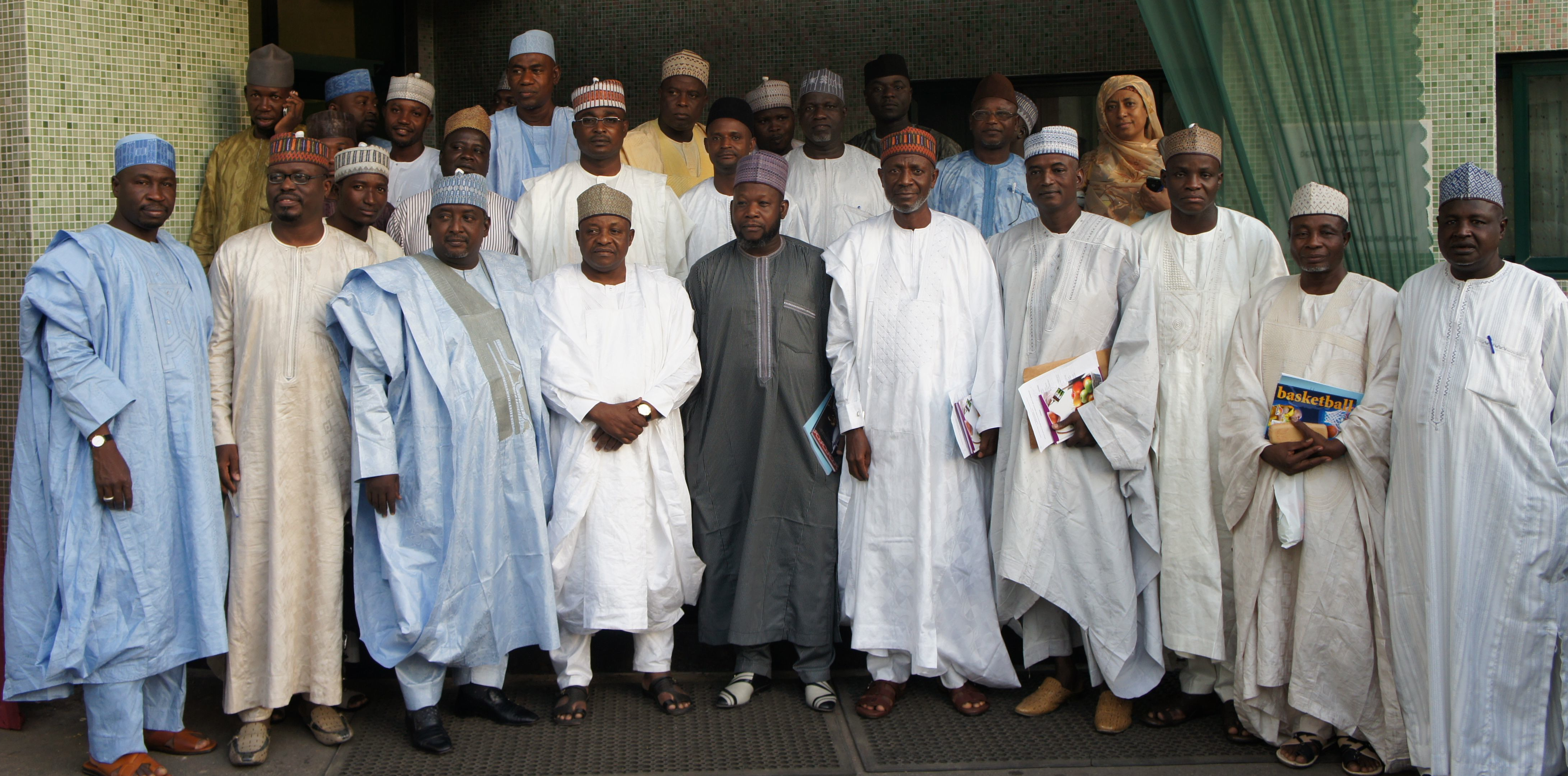 Honorable Commissioner of Health in Zamfara and other members of the State Ministry of Health