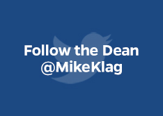 Follow the Dean @MikeKlag