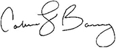 Colleen Barry Signature