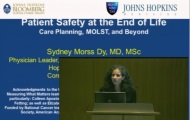 CHSOR Patient Safety End of Life Care