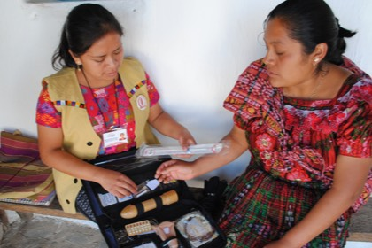 Family planning lessons in Guatemala