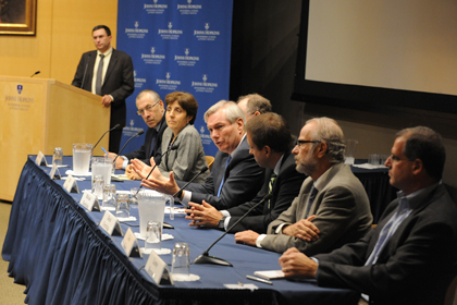 Panel at Dean's Ebola Forum 2014