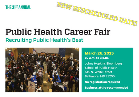 New date for Career Fair