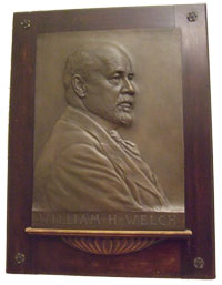 William Welch plaque