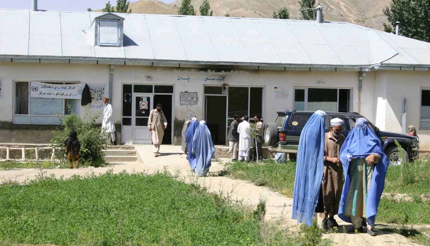 An Afghan health Clinic