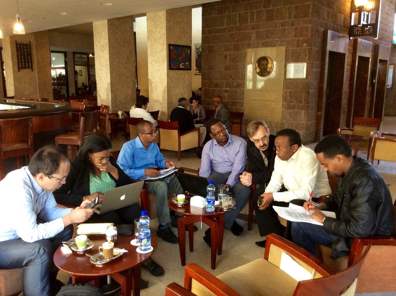 Meeting in Ethiopia