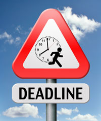 Application Deadlines Approaching!