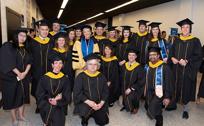 First graduating class of MAS Spatial Analysis in Public Health
