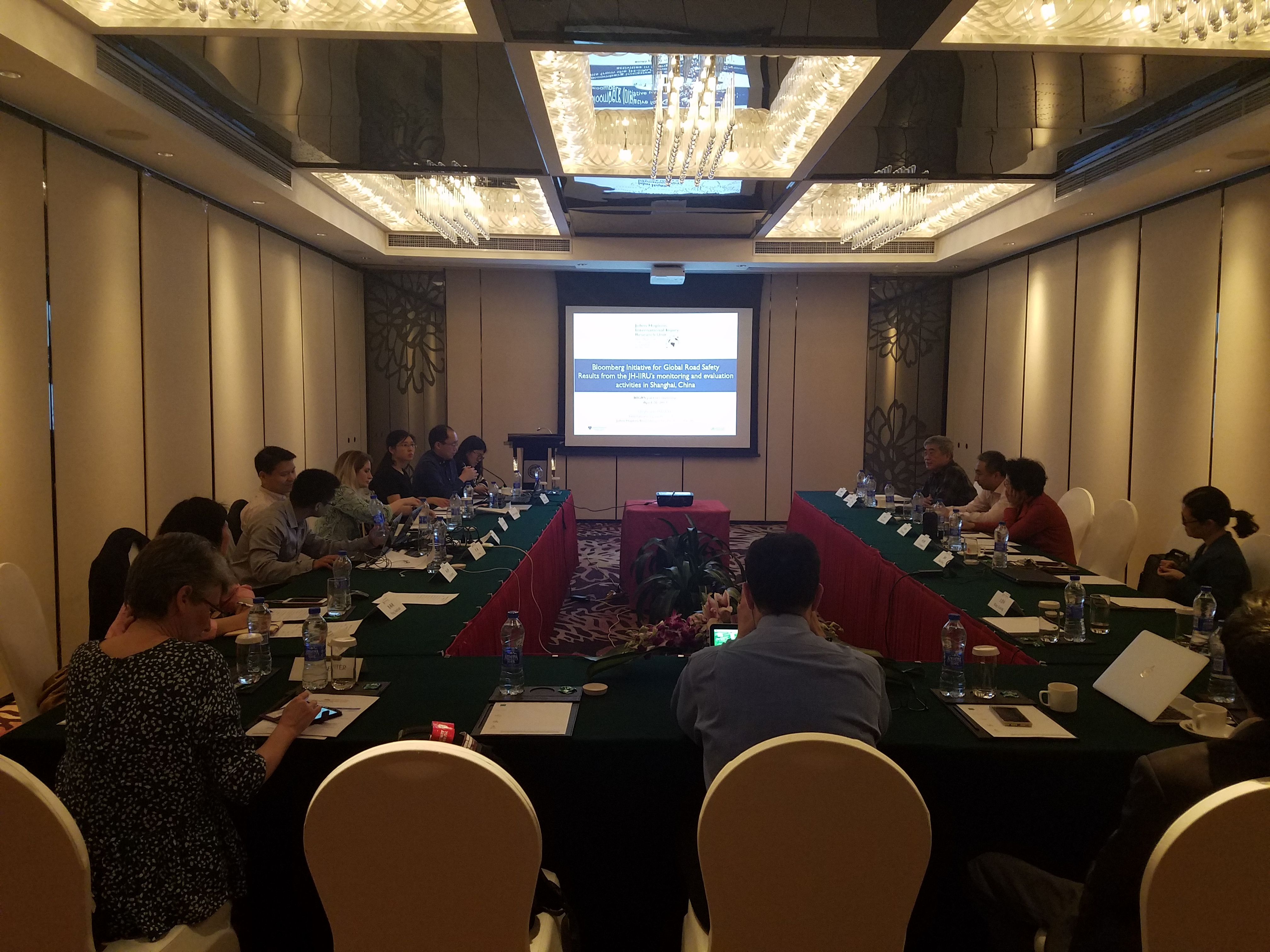 Dr. Qingfeng Li attends BIGRS meeting