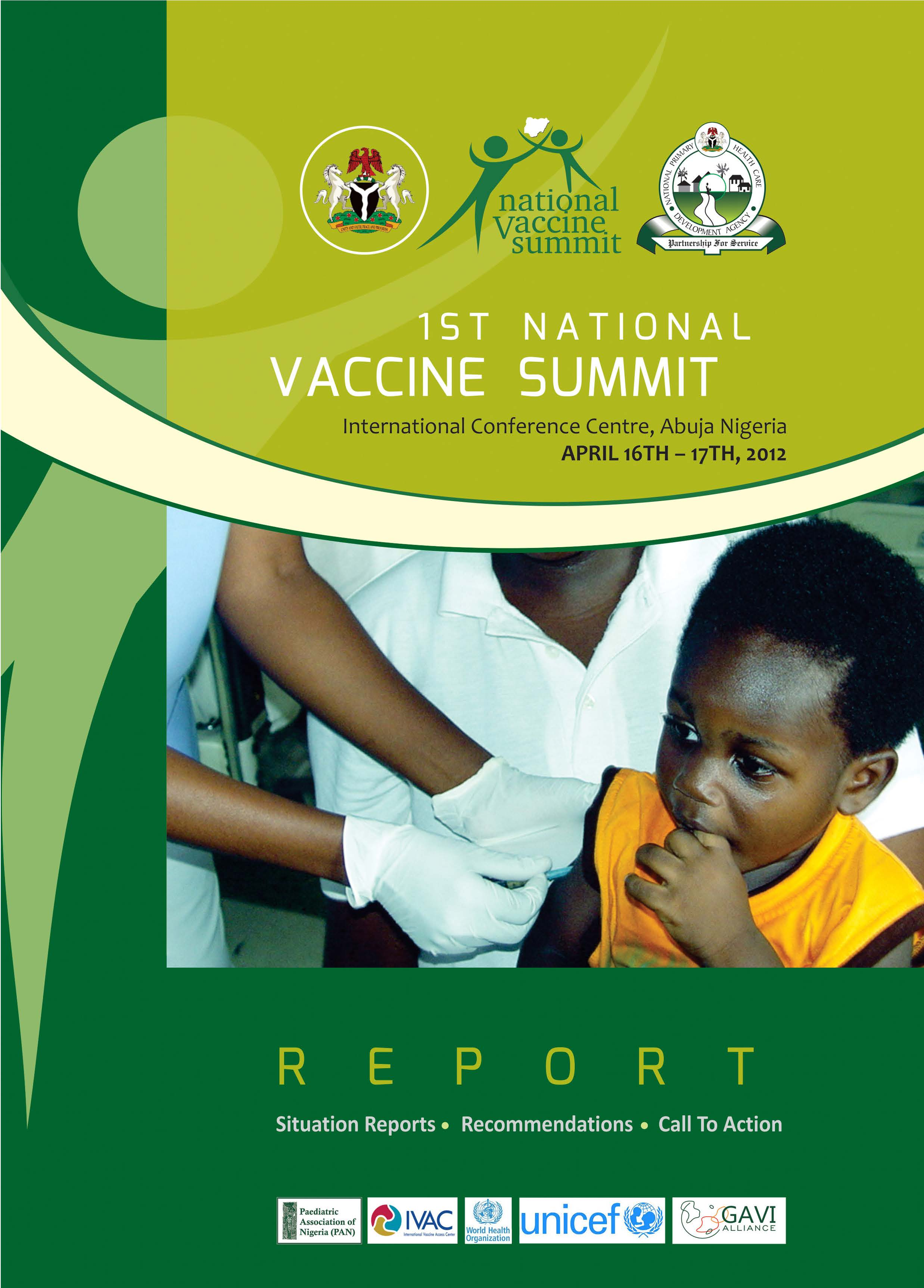 1st National Vaccine Summit Report