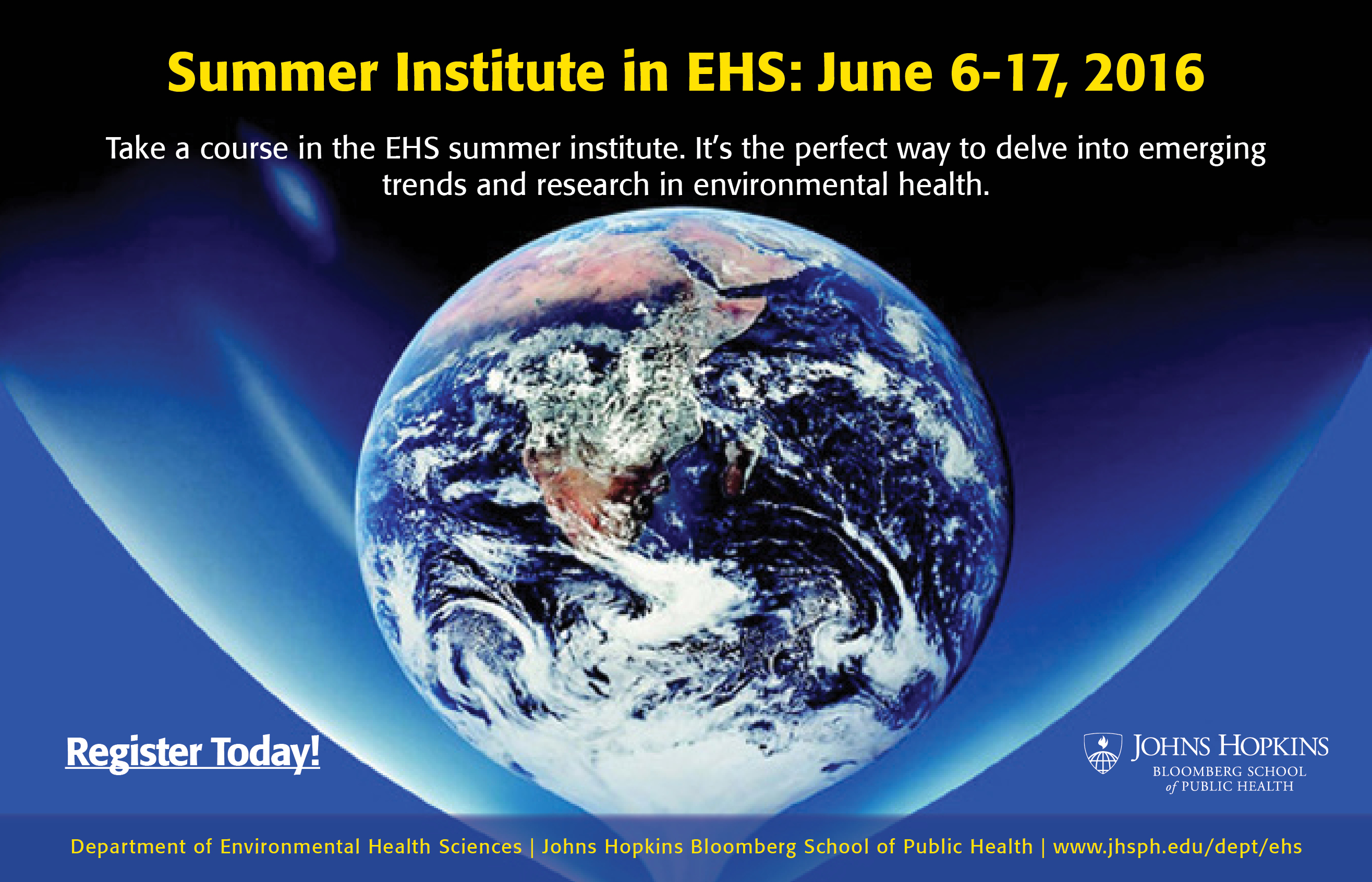 2016 Summer Institute in EHS