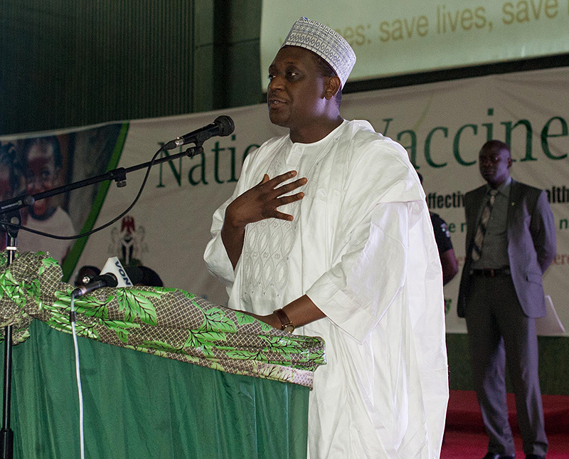 Nigeria's Minister of State for Health - Dr. Muhammad Pate