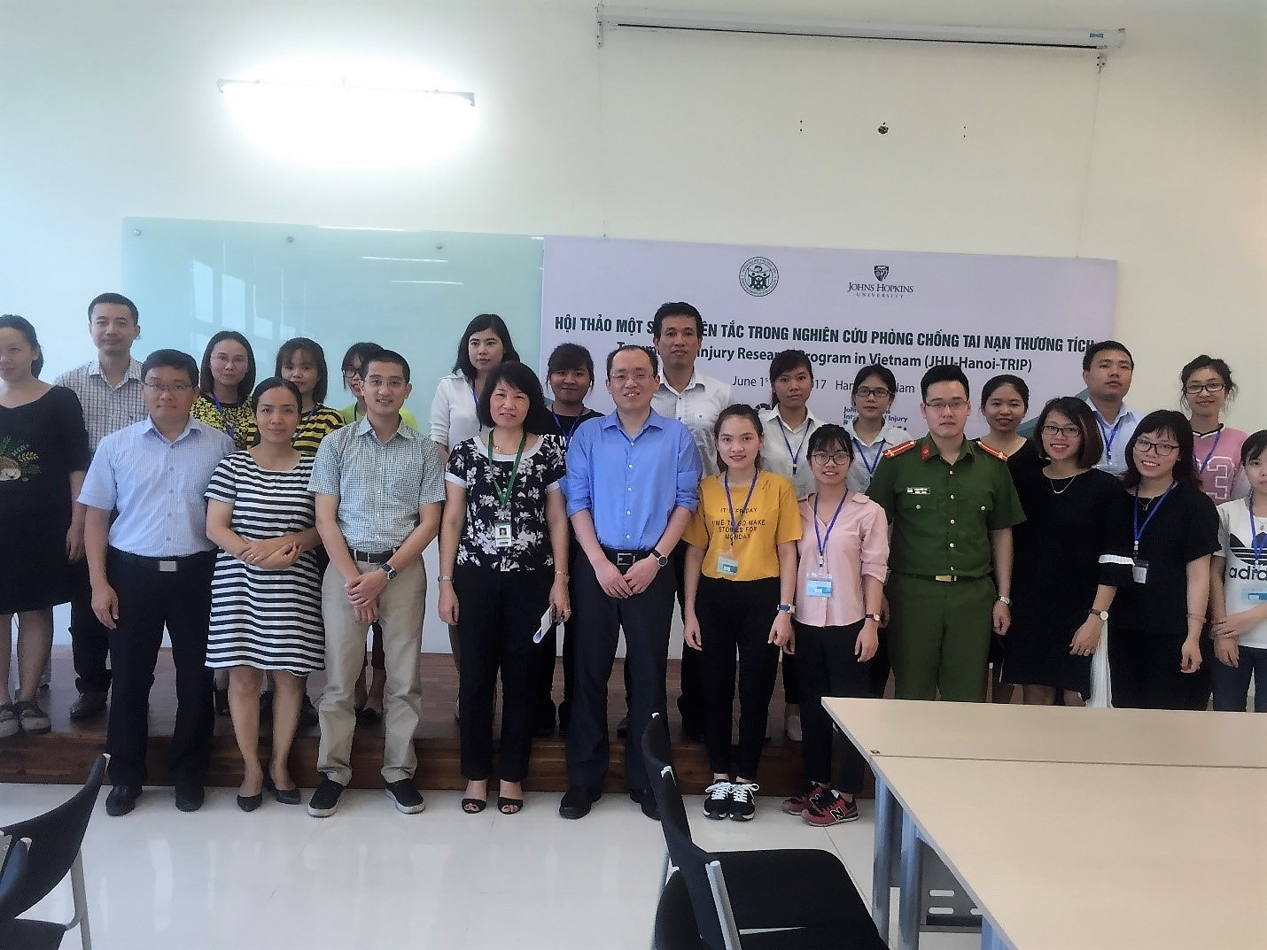 Workshop with Hanoi School of Public Health