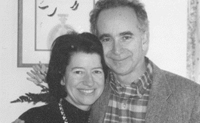 Mary Lou Clements-Mann and husband Jonathan Mann
