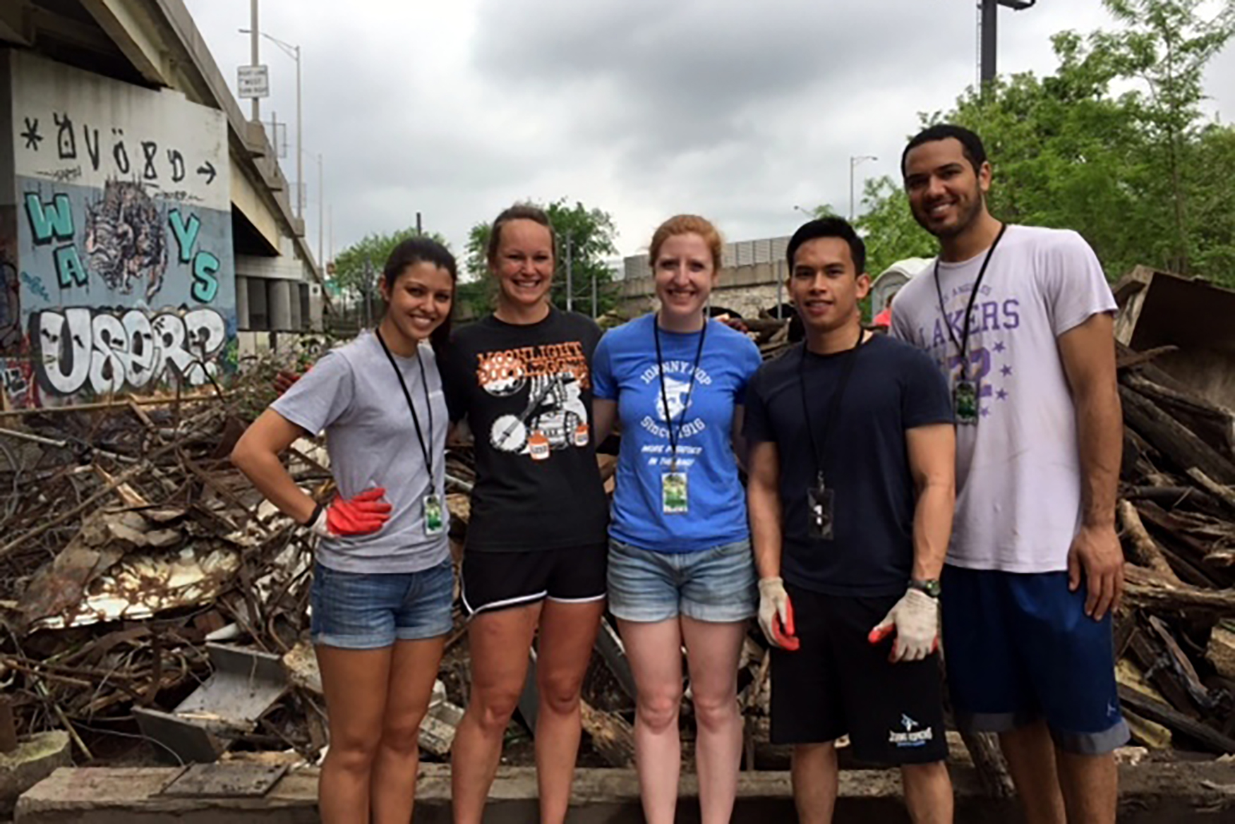 Volunteer Cleanup May 2015