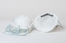 Getty Images, N95 respirator mask