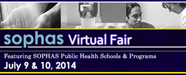SOPHAS Virtual Fair Banner